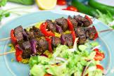 broiled marinated beef kabobs