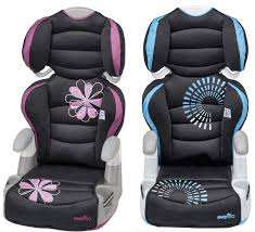evenflo high back booster car seat
