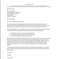 Cover Letter Template Nursing Graduate Ameliasdesalto Com
