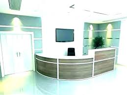 Office front desk design Clinic Reception Desk Design Cheap Reception Desk Ideas Front Office Reception Desk Design Furniture Receptionist Area Ideas Mazametinfo Reception Desk Design Pricifyco
