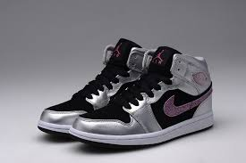 basketball shoes for girls nike black and white. aj1 nike air jordan 1 phat girls gs silver 454659 013 mens trainers sports basketball shoes for black and white