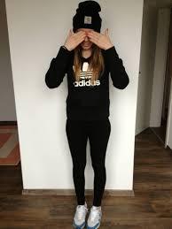 adidas hoodie womens. jacket: adidas, black, hat, sports sweater, sweatshirt, adidas black underwear - wheretoget hoodie womens c