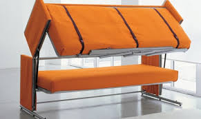transforming furniture for small spaces. Space Saving Bunk Bed Sofa 3 Transforming Furniture For Small Spaces D