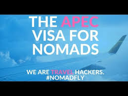 The Apec Visa For Digital Nomads 14 Countries For 5 Years Youtube