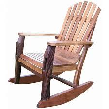 Furniture Best And Popular Adirondack Rocking Chair