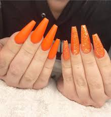 56 stylish acrylic coffin nails color design for spring summer