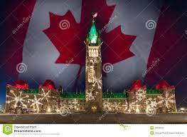 Lighting Stores Ottawa Ontario Christmas Lights Parliament Hill Ottawa Ontario Canada Stock