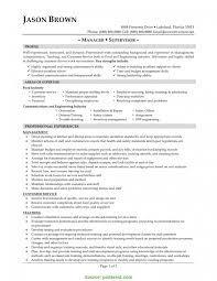 Sample Supervisor Resume Valuable Restaurant Supervisor Cv Sample Supervisor Resume Sample 15