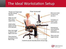 ergonomic desk setup. -how-to-set-up-an-ergonomic-office-desk Ergonomic Desk Setup