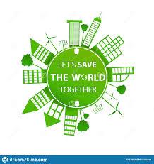 Sustainable Print Design World Environment Day Stock Illustration Illustration Of