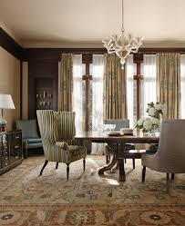 Interior Design Living Room Traditional Sheer Curtain Ideas Dining Room Traditional With Banquette