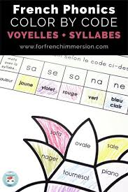 The activities can be used in kindergarten or 1st grade or for remedial work in other. French Phonics Color By Code Non Seasonal Printables For Free Worksheets Bundle Worksheet Free French Phonics Worksheets Worksheet Grade 4 Mathematics Book Pre Algebra Workbook Change Each Fraction To A Decimal Mathematics