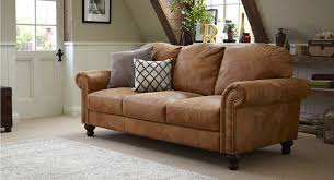 Remarkable Light Brown Leather Sofa Ambroseupholstery
