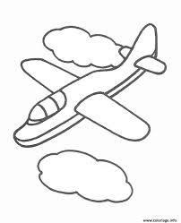 Coloriage Avion 133 Dessin