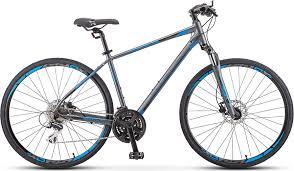 <b>Велосипед Stels Cross</b>-<b>150</b> D Gent 28' V010 Антрацитовый ...