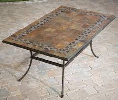 small mosaic outdoor side tables