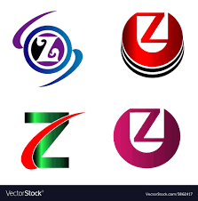 Z Logo Design Vector Letter Z Logo Icons Set Graphic Design