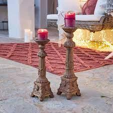 Kerzenständer 2er Set Leonor | LOBERON