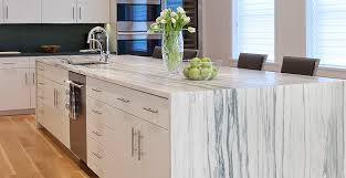 white stone kitchen countertops. Interesting Countertops White Marble Inside Stone Kitchen Countertops I