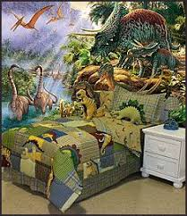 Magical Kids Room with a Dinosaur Theme - Interior design