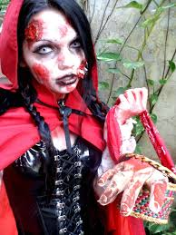 zombie red riding hood by lady in on deviantart
