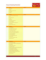 Officeeaning Checklist Pdf Word Doc Daily Excel Forms Free Company