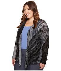 women s nic zoe plus size waterfall four way cardy clothing sweaters thu6708 fashion