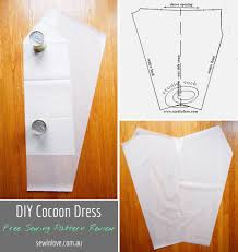 Free Sewing Patterns Online Awesome DIY Cocoon Dress Free Sewing Pattern Review Baby Girl Is Here