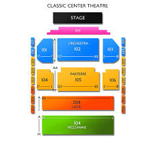 The Classic Center Seating Chart National Ballet Theatre Of Odessa Athens Tickets 12 22