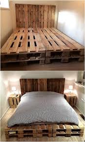 Pallet Bedroom 17 Best Ideas About Pallet Beds On Pinterest Palette Bed Diy