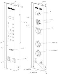vulcan gas oven wiring diagram vulcan wiring diagrams vc gas series control panels wiring diagram
