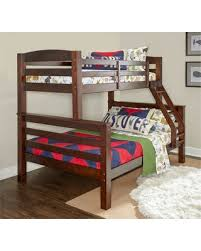 Amazing New Deals on Twin Over Full Avery Bunk Espresso Brown ...