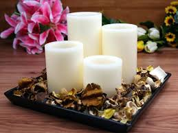 6 inch candle wax led candle 3 4 5 and 6 inch each round edge with