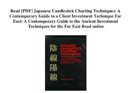 The Complete Guide To Using Candlestick Charting Pdf Read Pdf Japanese Candlestick Charting Techniques A