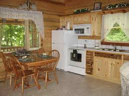 cabin kitchen ideas82 cabin