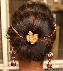 hair styles indian bridal style in wedding stani dulhan hairstyle hairstyles by unixcode