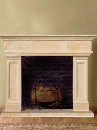2 cast stone fireplace mantels bold and modern