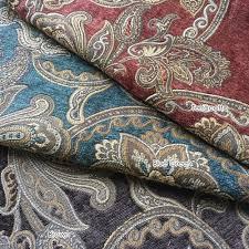 Paisley Sofa aliexpress buy 2017 sofa chair chenille fabric jacquard 8419 by uwakikaiketsu.us