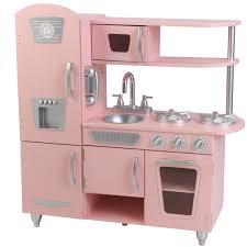 Melissa And Doug Retro Kitchen Kidkraft Pink Vintage Play Kitchen
