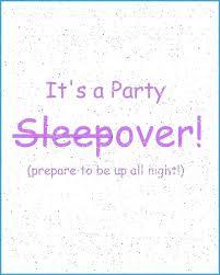 Slumber Party Invitations To Print Free Guluca