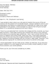 Associate Lawyer Cover Letter Sarahepps Com