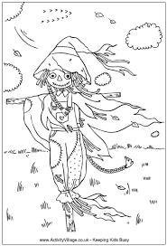 Small Picture Harvest Colouring Pages