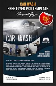 Car Wash Flyer Template Car Wash Free Flyer Psd Template Facebook Cove By Webstroy And Car 21
