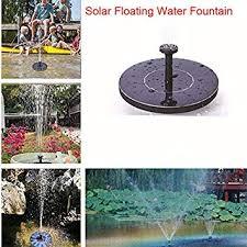FairOnly <b>Mini Solar</b> Floating <b>Water Fountain</b> for Garden Pool Pond ...
