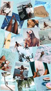 Summer Vibe Collage Wallpapers for ...