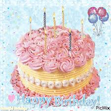 Glittery Happy Birthday Cake Gif Pictures Photos And Images For