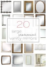 Unusual Bathroom Mirrors 20 Large And Unique Vanity Mirrors Table And Hearth