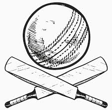 Bat And Ball Coloring Pages At Getdrawingscom Free For Personal