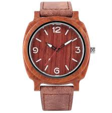 china wood watches for men and women fashion casual leather strap wrist watch male relogio 210 china wood watches bamboo leather watch