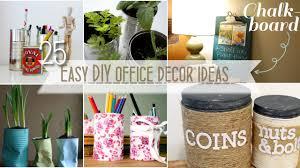 easy diy office decor